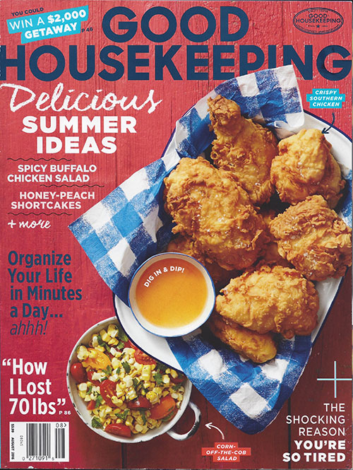 The Angel Next Door, Good Housekeeping, August 2016