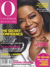 Being Touched, O The Oprah Magazine, October 2009