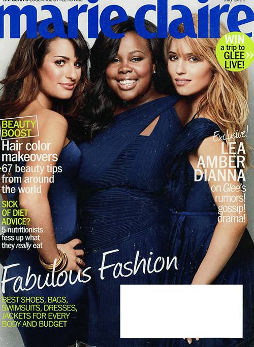 A Family Affair, Marie Claire, May 2011