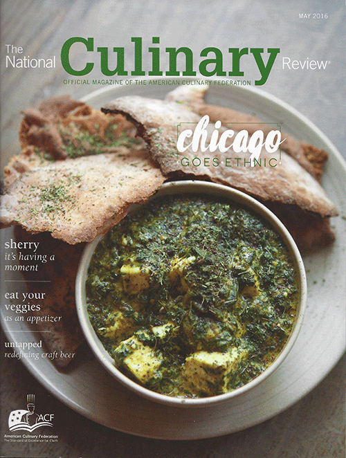 Untapped, National Culinary Review, May 2016